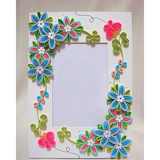 Quilled Photo Frames For Home Decor