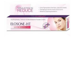 Elosone-HT Anti Pigmentation Anti-Wrinkle Remove Dark Spots Cream For All Skin Types 25g (No of Units 1)