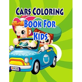 Buy Cars Coloring Book For Kids: Coloring Pages for Kids (Kids ...