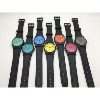 d9d17b77248b8 Mens Ladies Kids Miykon Waterproof Black Rubber Band Fun Sport Analog Watch