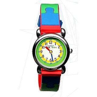 My First Speidel Puzzle Kids Multi-Color Fun Easy-to-Read Watch 77603000 c22100943bf75
