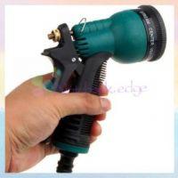 Car/Bike Washing, Garden Water Spray Gun, 8 Pattern Brass Nozzal