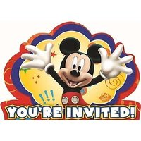 Mickey Mouse Clubhouse Novelty Party Invitations With D