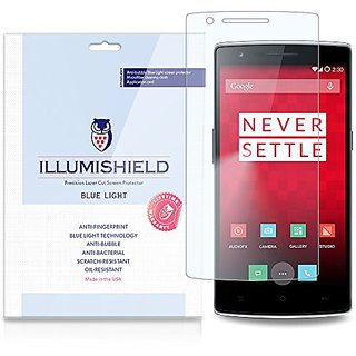 Buy Illumishield Oneplus One Screen Protector Hd Blue Light Uv