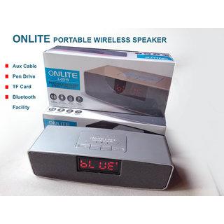 ONLITE PORTABLE WIRELESS SPEAKER Bluetooth Fm Aux Tf Card Bluetooth Speakers
