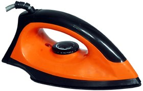 Sahi ST 1 Tiger Dry Iron - Black  Orange