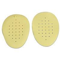2 Pair Latex Soft Anti-slip Half Insole Shoe Pads Cushi