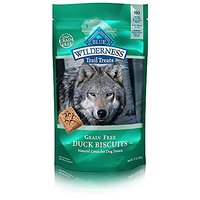 Blue Buffalo Dog Treats, Duck & Chicken Biscuits,10 Oz