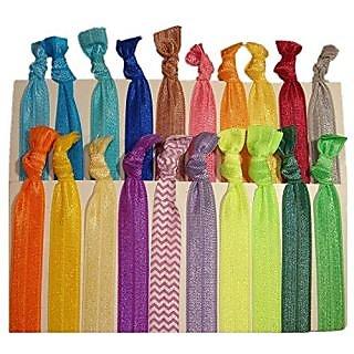 Buy Hair Ties Ponytail Holders - 20 Pack