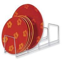 4-Section Plate Rack (Chrome) (4.75
