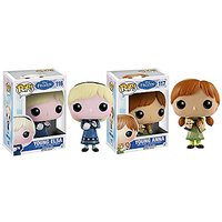 Maven Gifts: Frozen Elsa and Anna Young Pop Figures