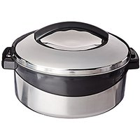 Milton Regent Hot Pot Insulated Casserole Keep Warm/Cold Upto 4-6 Hours, Full Stainless Steel, 2.5 Liter
