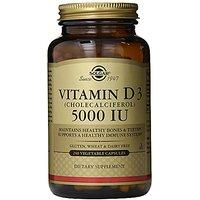 Solgar Vitamin D3 Cholecalciferol 5000 IU Vegetable Cap