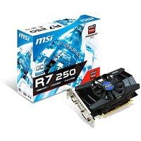MSI R7 250 2GD3 OC 1.8 GHz 2GB DDR3 Video Graphics Card