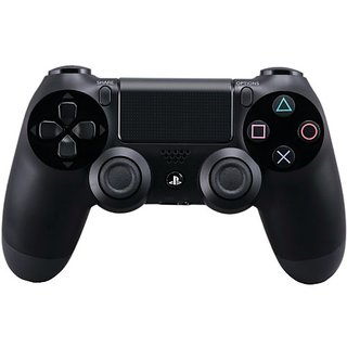 DualShock 4 Wireless Controller for PlayStation 4 - Jet Black (CUH-ZCT1:  Old Model)