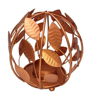 Leaves Sphere Candle Stand