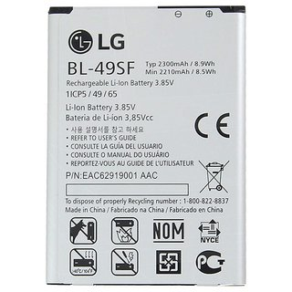 Lg Li Ion Battery >> Original Li Ion Polymer Battery Bl49sf For Lg G4c G4s H735t H525n G4 Mini