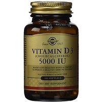 Solgar -Vitamin D3 (Cholecalciferol) 5000 IU 100 Softge