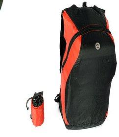 Viaggi Black Casual Polyester Backpack