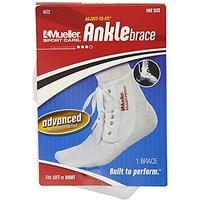 Mueller Sports Medicine Adjust-To-Fit Ankle Brace, Whit
