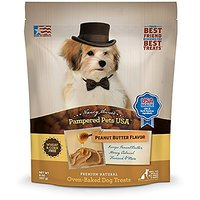 Pampered Pet Treats Peanut Butter Flavor All Natural Ov