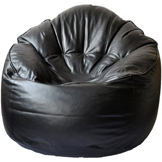 UK Bean Bags Mudda Chair Black Size XXL