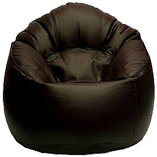 UK Bean Bags Mudda Chair Brown Size XXL