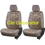 Car Seat Covers PRINTED BEIGE For Tata Aria + FREE DVD Holder