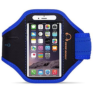 sports shoes 41a9a 33c9c Gear Beast Sport Gym Running Armband with Key Holder and Free Strap  Extender for iPhone 6s Plus, 6 Plus, Note 5, S7 Edge, S6 Edge Plus,  Motorola Moto ...