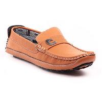 Foot N Style Men's Black Loafers