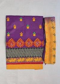 Cotton Dress Material (Unstitched)
