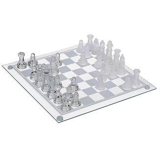 Cool Trends Transparent Glass Chess (Medium)