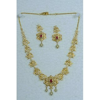 Vyshnavi party wear Necklace