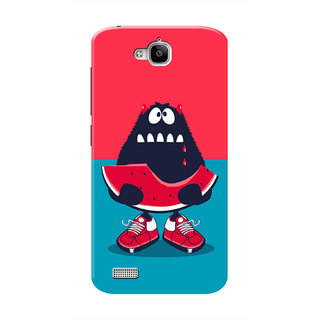 HACHI Cartoon Mobile Cover For Huawei Honor Holly