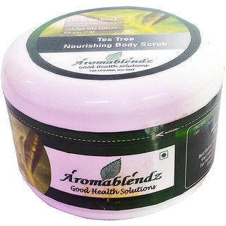 Aromablendz Tea Tree Exfoliating Body Scrub 150 gm