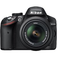 Nikon D3200 SLR With 18-55 Mm Lens Kit (Black)