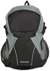 Fastrack Trendy Laptop Black And Grey Backpack A0310n