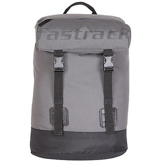 Fastrack Polyester Grey Laptop Unisex Bag - A0508NGY01