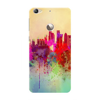 HACHI Colorful Skyline Mobile Cover For LeEco Le 1s Eco