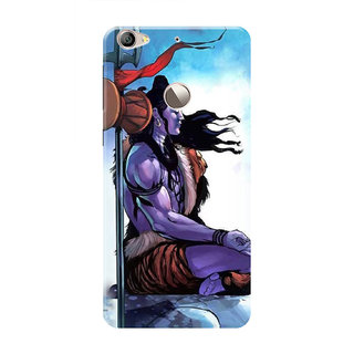HACHI Lord Shiva Mobile Cover For LeEco Le 1s