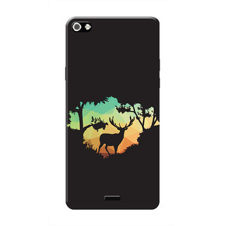 HACHI Sweet Nature Mobile Cover For Micromax Canvas Sliver 5 Q450
