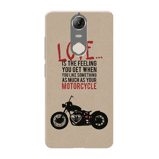 HACHI Love Motorcycle Mobile Cover For Lenovo K5 Note :: Lenovo K5 Note Pro