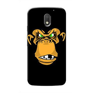 HACHI Cool Case Mobile Cover For Motorola Moto E3 Power