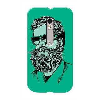 HACHI Cool Case Mobile Cover For Motorola Moto G3 :: Motorola Moto G (3rd Gen)