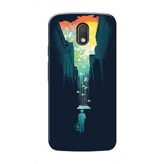 HACHI Cool Case Mobile Cover For Motorola Moto E3