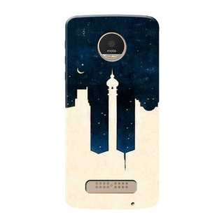 HACHI Cool Case Mobile Cover For Motorola Moto Z Play