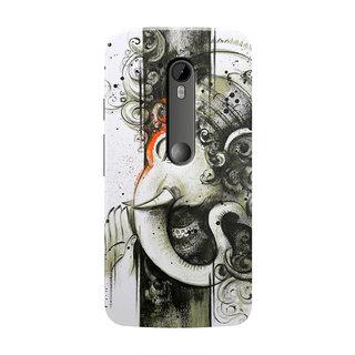 HACHI Ganpati Ji Mobile Cover For Motorola Moto X Style ::