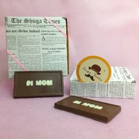 '# 1 MOM' Chocolate Slab - A Pack Of 4