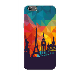 HACHI Beautiful City Mobile Cover For Oppo F1s