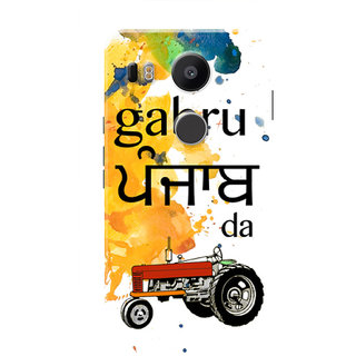 HACHI Gabru Punjab Da Mobile Cover For LG Nexus 5X